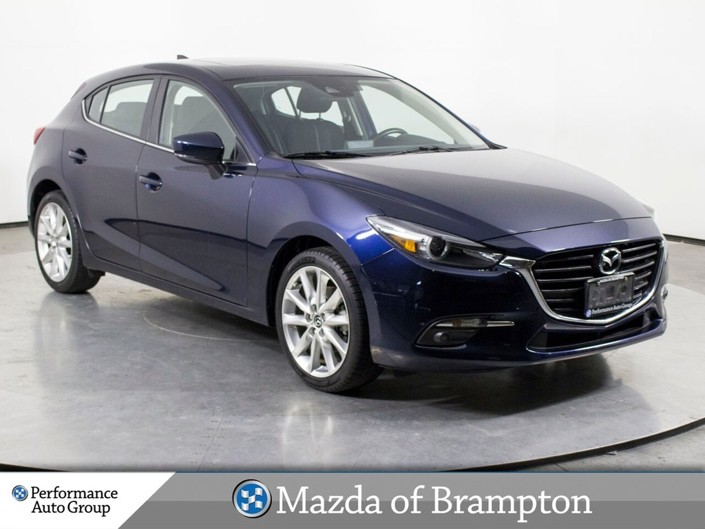 Pre Owned 2017 Mazda3 Sport Gt Navi Camera Blind Spot Roof